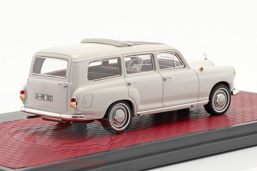 matrix-1-43-mercedes-benz-binz-180d-w120-auto-famigliare-anno-di-costruzione-1960-grigio-chiaro-mx11302-182/