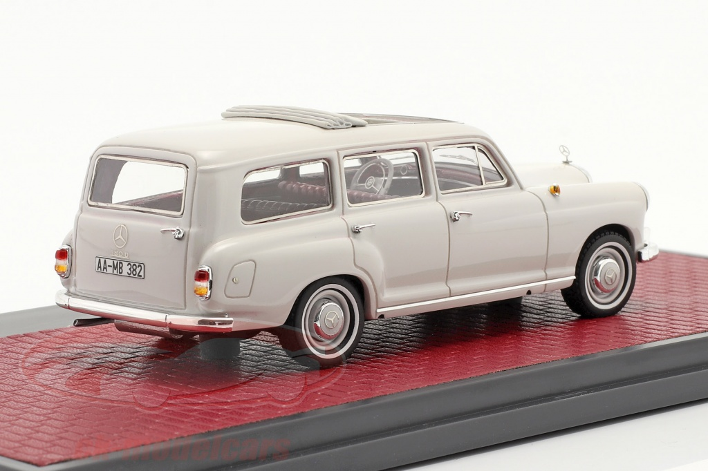 matrix-1-43-mercedes-benz-binz-180d-w120-stationwagen-bouwjaar-1960-lichtgrijs-mx11302-182/