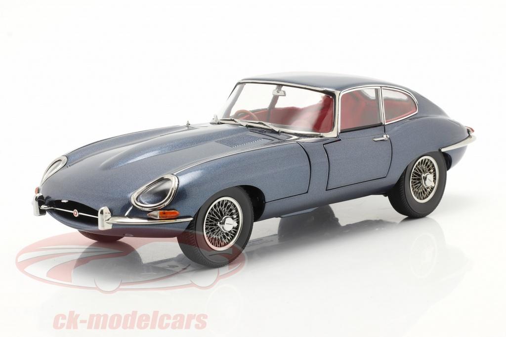 kyosho-jaguar-e-type-coupe-rhd-annee-de-construction-1961-bleu-fonce-metallique-1-18-08954bl/