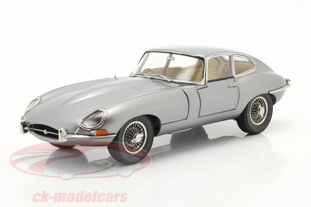 kyosho-1-18-jaguar-e-type-coupe-rhd-anno-di-costruzione-1961-grigio-scuro-metallico-08954gm/