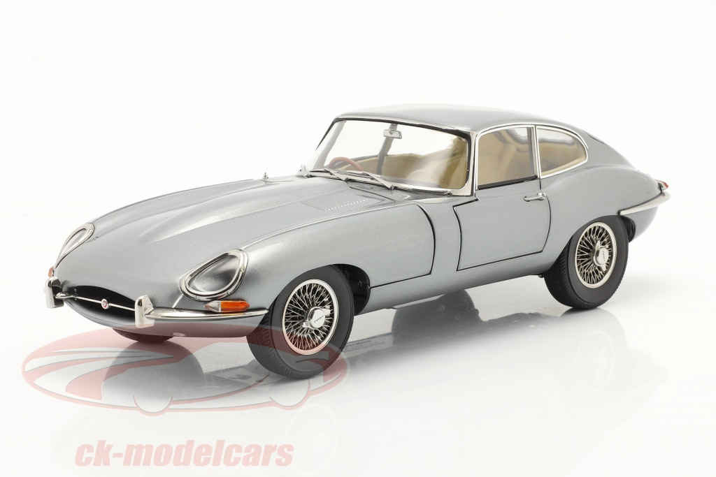 kyosho-1-18-jaguar-e-type-coupe-rhd-bouwjaar-1961-donkergrijs-metalen-08954gm/