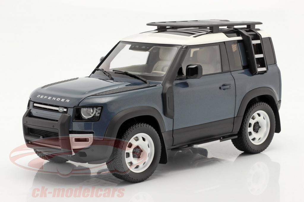almost-real-1-18-land-rover-defender-90-annee-de-construction-2020-tasman-bleu-alm810702/
