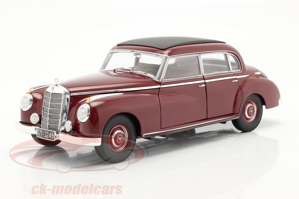 norev-1-18-mercedes-benz-300-w186-annee-de-construction-1955-fonce-rouge-183705/