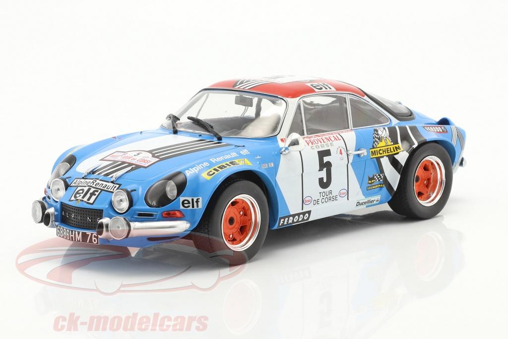 ixo-1-18-alpine-renault-a110-1800-no5-2-plads-rallye-tour-de-corse-1973-18rmc062c/