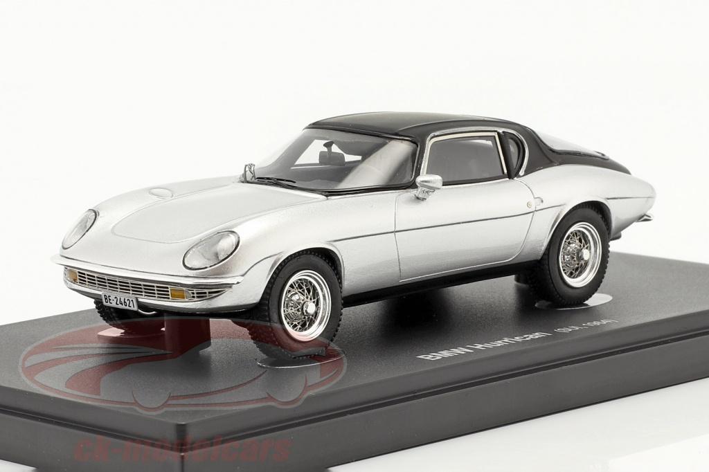autocult-1-43-bmw-hurrican-baujahr-1964-silber-schwarz-60064/