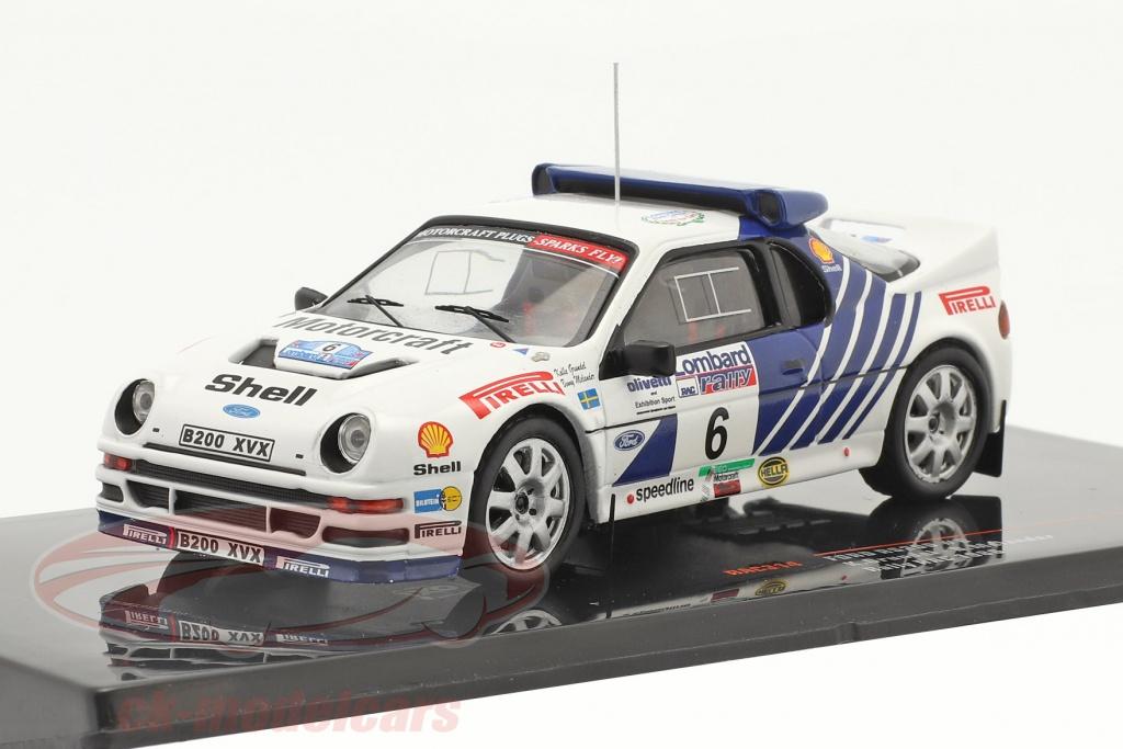 ixo-1-43-ford-rs200-no6-5-plads-lombard-rac-rallye-1986-grundel-melander-rac314/