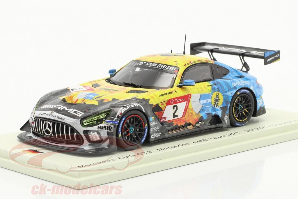 spark-1-43-mercedes-benz-amg-gt3-no2-noveno-24h-nuerburgring-2020-mercedes-amg-team-hrt-sg688/