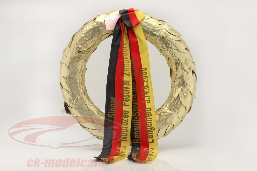 original-winners-wreath-dmsb-renault-sport-clio-trophy-zandvoort-2000-ck69133/
