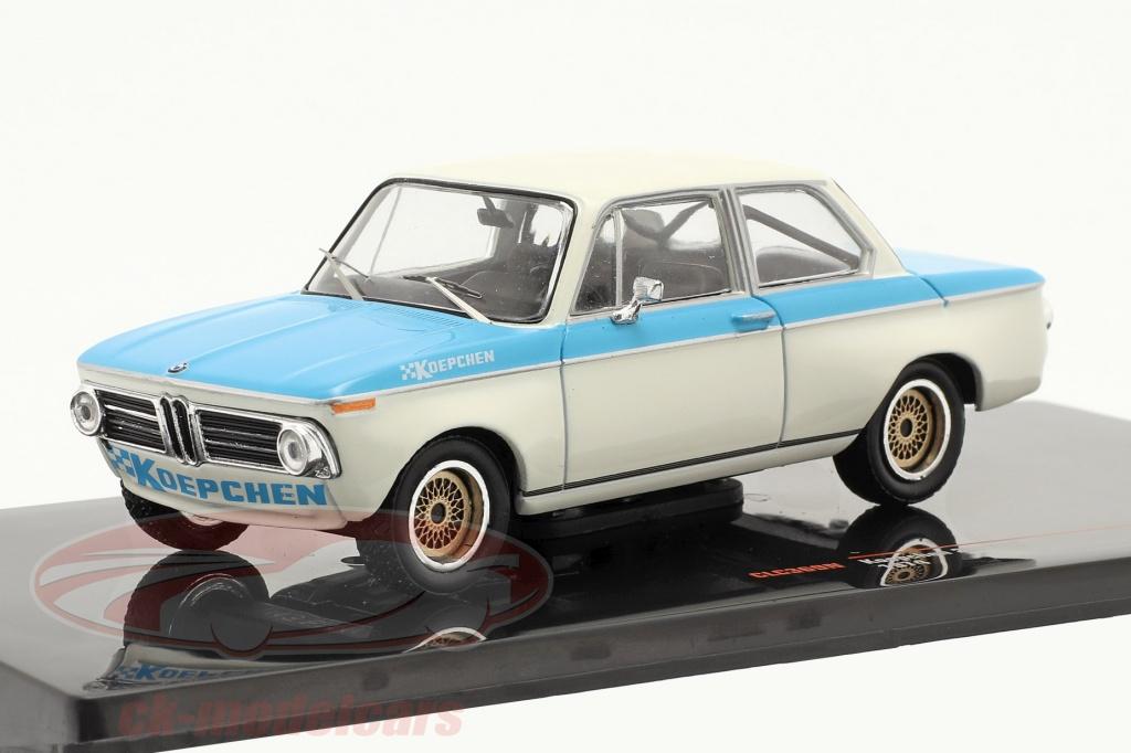 ixo-1-43-bmw-koepchen-2002-tii-ano-de-construcao-1974-branco-azul-clc369n/