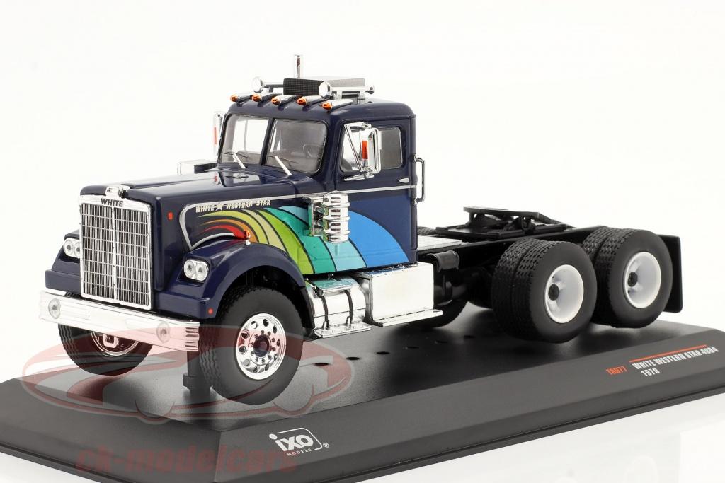 ixo-1-43-white-western-star-4864-vrachtauto-1970-donkerblauw-tr077/