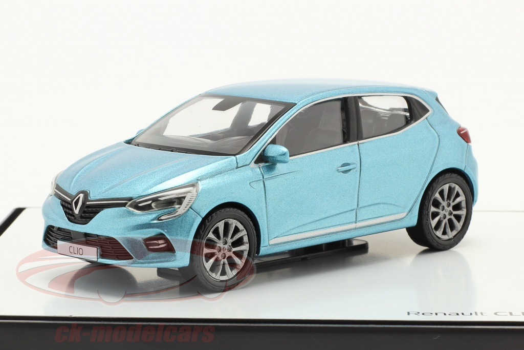 norev-1-43-renault-clio-generacion-5-ano-de-construccion-2019-azul-claro-metalico-7711940637/