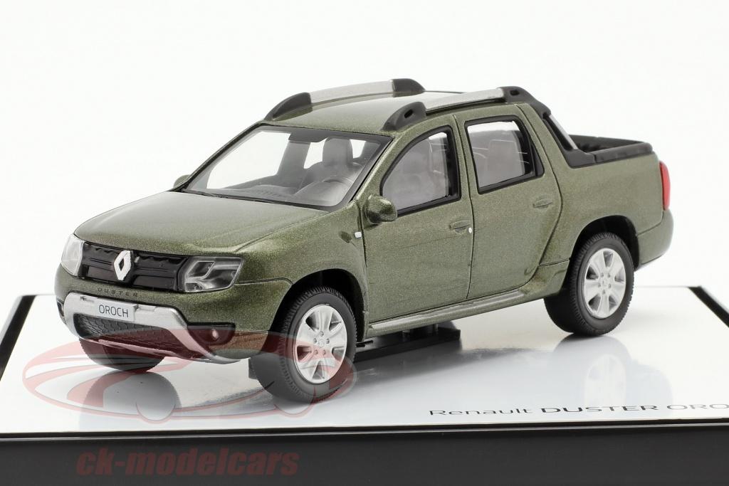 norev-1-43-renault-duster-oroch-pick-up-annee-de-construction-2015-vert-metallique-7711780361/