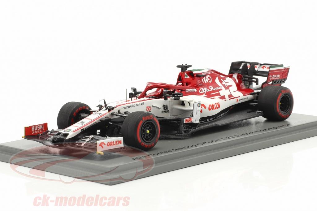 spark-1-43-k-raeikkoenen-alfa-romeo-racing-c39-no7-emilia-romagna-gp-formula-1-2020-s6494/