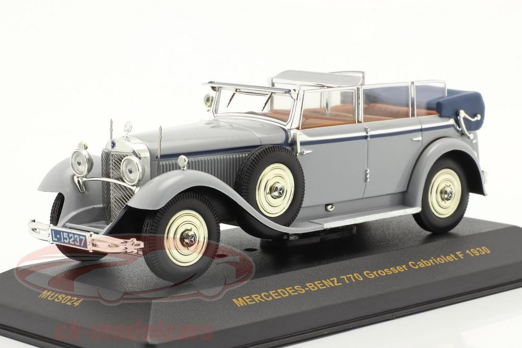 ixo-1-43-mercedes-benz-770-grosser-cabriolet-f-1930-grigio-blu-mus024/