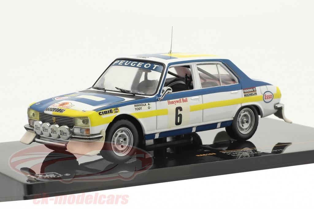 ixo-1-43-peugeot-504-no6-winnaar-rally-du-maroc-1975-mikkola-todt-rac163/