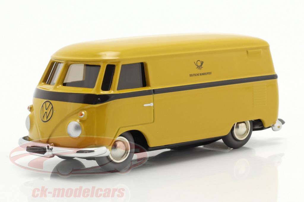schuco-1-40-micro-racer-volkswagen-vw-t1-varevogn-tysk-federal-post-gul-450196800/