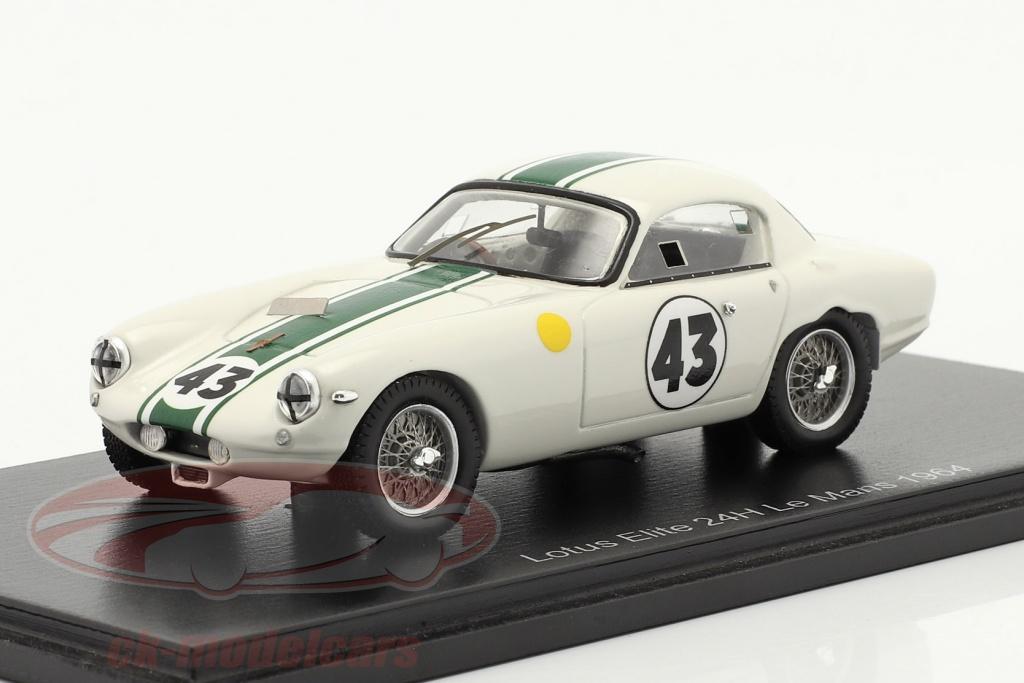 spark-1-43-lotus-elite-no43-sieger-gt1300-24h-lemans-1964-hunt-wagstaff-s8214/