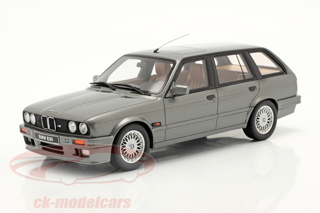 ottomobile-1-18-bmw-325i-e30-touring-annee-de-construction-1991-gris-metallique-ot929/