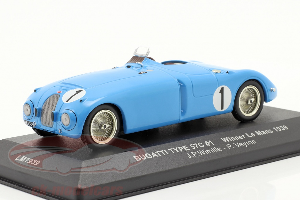 ixo-1-43-bugatti-type-57c-no1-wimille-veyron-ganador-lemans-1939-lm1939/