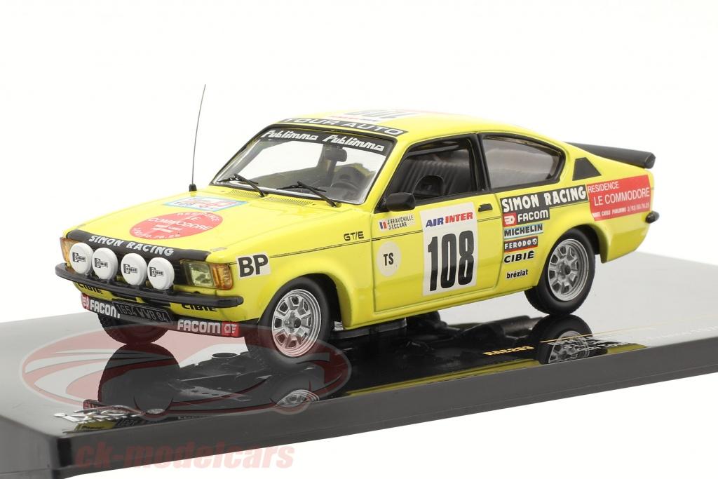 ixo-1-43-opel-kadett-no108-jl-clarr-4e-reis-de-frankrijk-1979-rac203/