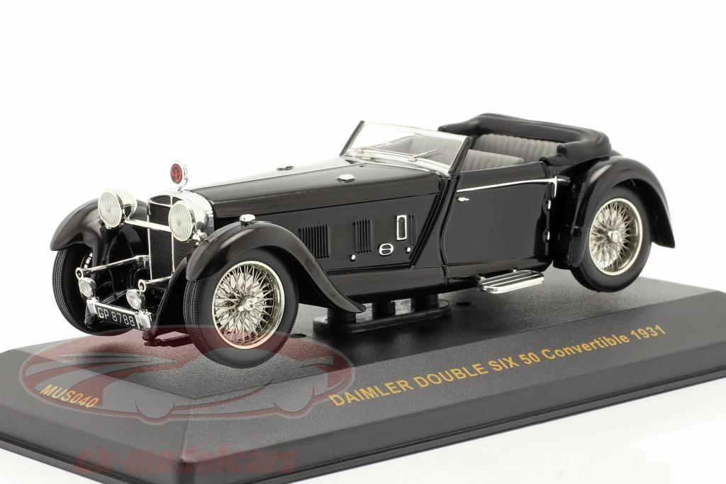 ixo-1-43-daimler-double-six-50-annee-1931-schwarz-black-mus040/