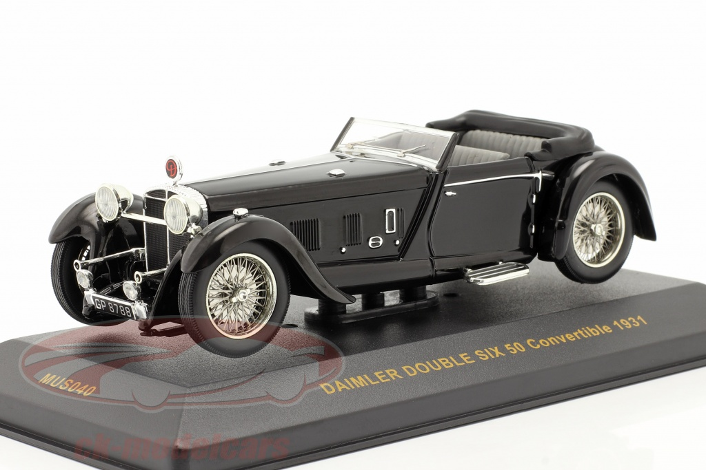 ixo-1-43-daimler-double-six-50-ano-1931-schwarz-black-mus040/