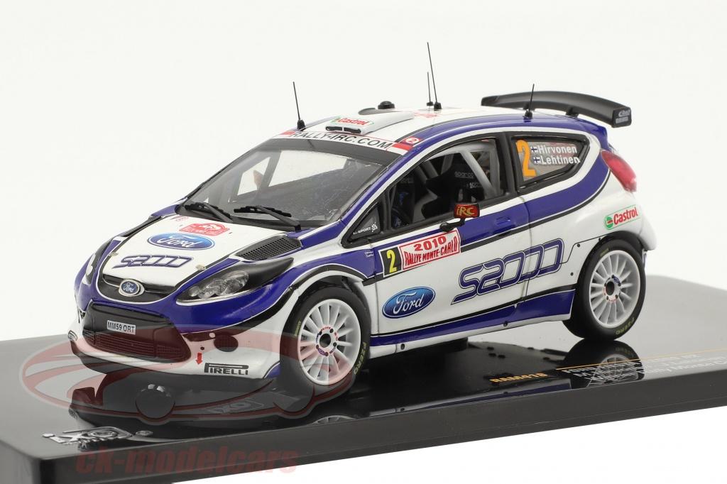 ixo-1-43-ford-fiesta-s2000-no2-hirvonen-lehtinen-vinder-rally-monte-carlo-2010-ram418/