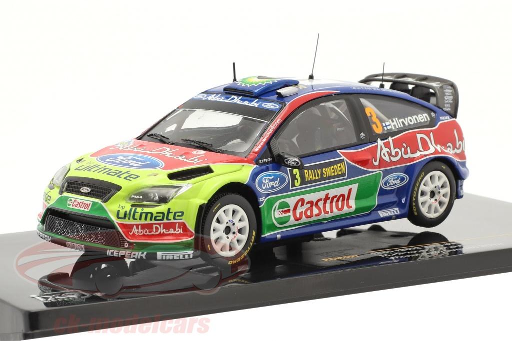 ixo-1-43-ford-focus-wrc-no3-sieger-rally-schweden-2010-hirvonen-lehtinen-ram407/