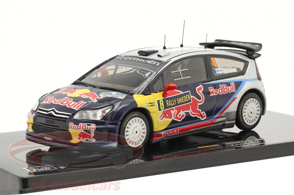 ixo-1-43-citroen-c4-wrc-no8-raikkonen-lindstrom-rally-de-suecia-2010-ram409/