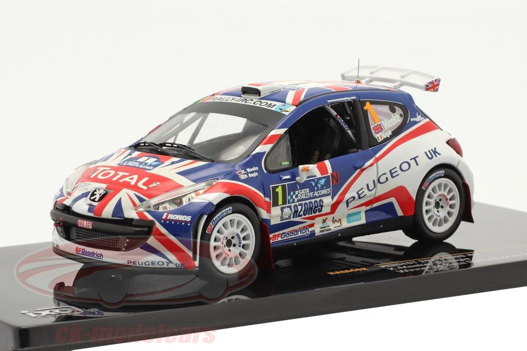 ixo-1-43-peugeot-207-s2000-no1-meeke-nagle-sata-rally-acores-winner-2010-ram442/