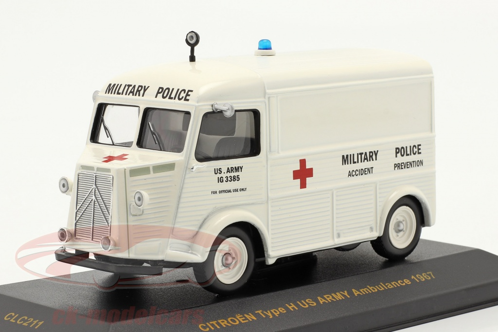 ixo-1-43-citroen-type-h-anno-1967-us-army-ambulance-clc211/