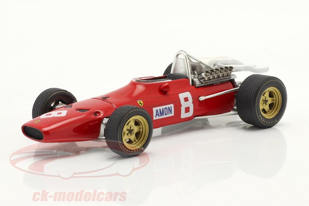 ixo-1-43-chris-amon-ferrari-312-n-8-gp-du-nuerburgring-formule-1-1967-sf21-67/