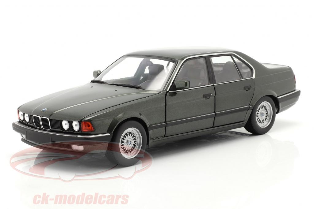 minichamps-1-18-bmw-730i-e32-ano-de-construccion-1986-verde-oscuro-metalico-100023004/