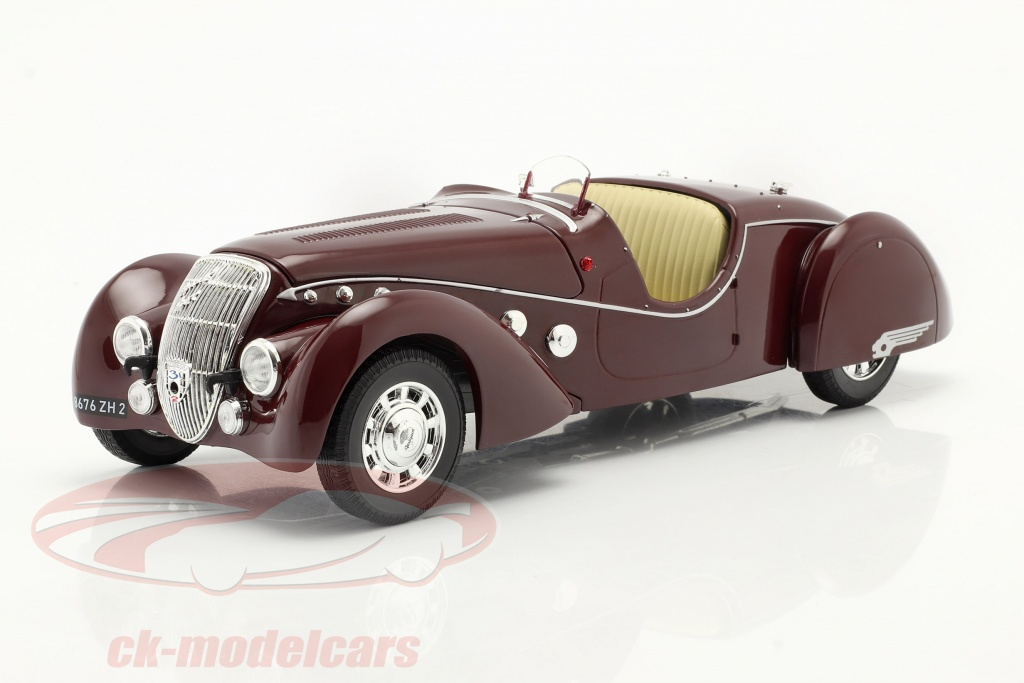 norev-1-18-peugeot-302-darlmat-roadster-baujahr-1937-dunkelrot-metallic-184695/