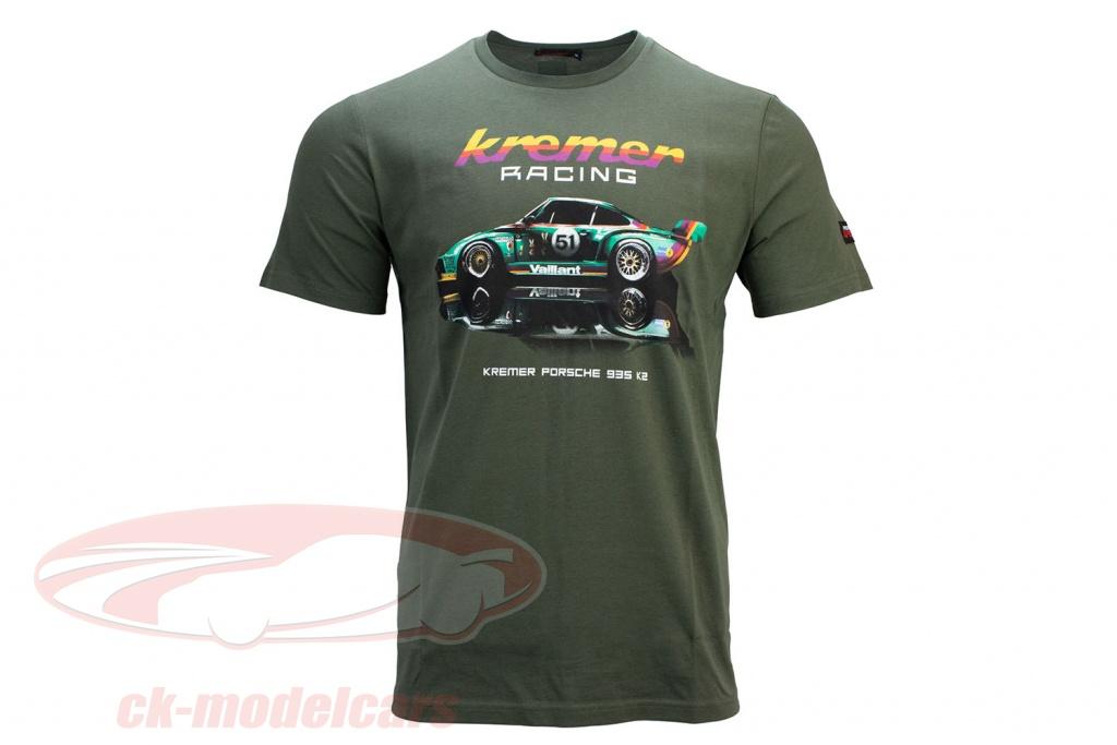 t-shirt-kremer-racing-porsche-935-k2-olive-verte-kr-21-151-f/s/