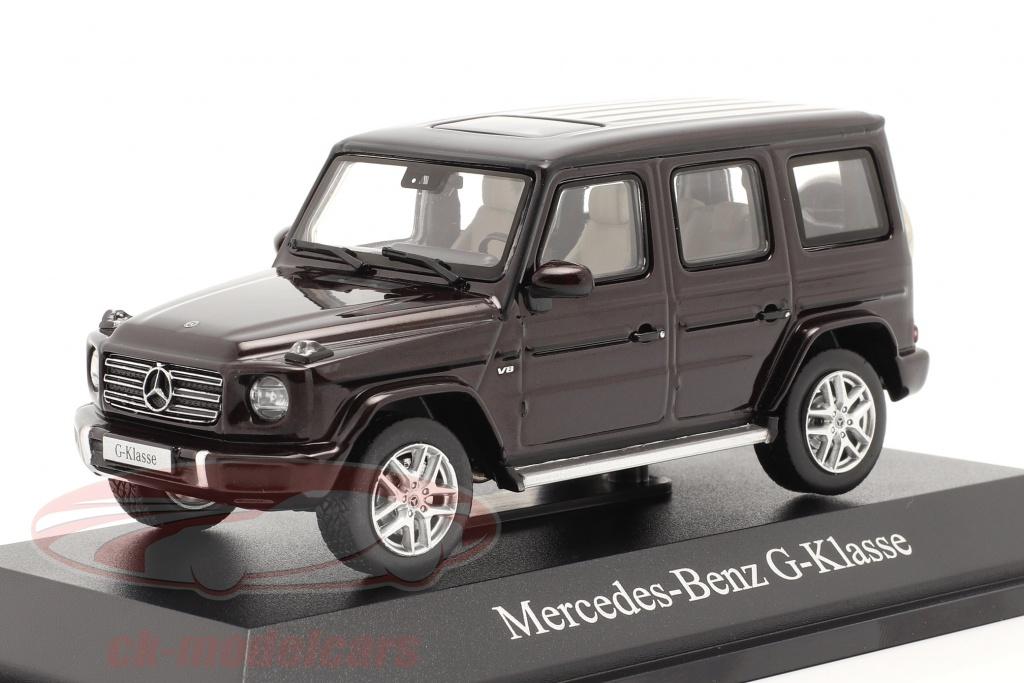 norev-1-43-mercedes-benz-classe-g-g-500-w463-annee-de-construction-2018-rouge-rubellite-b66960641/