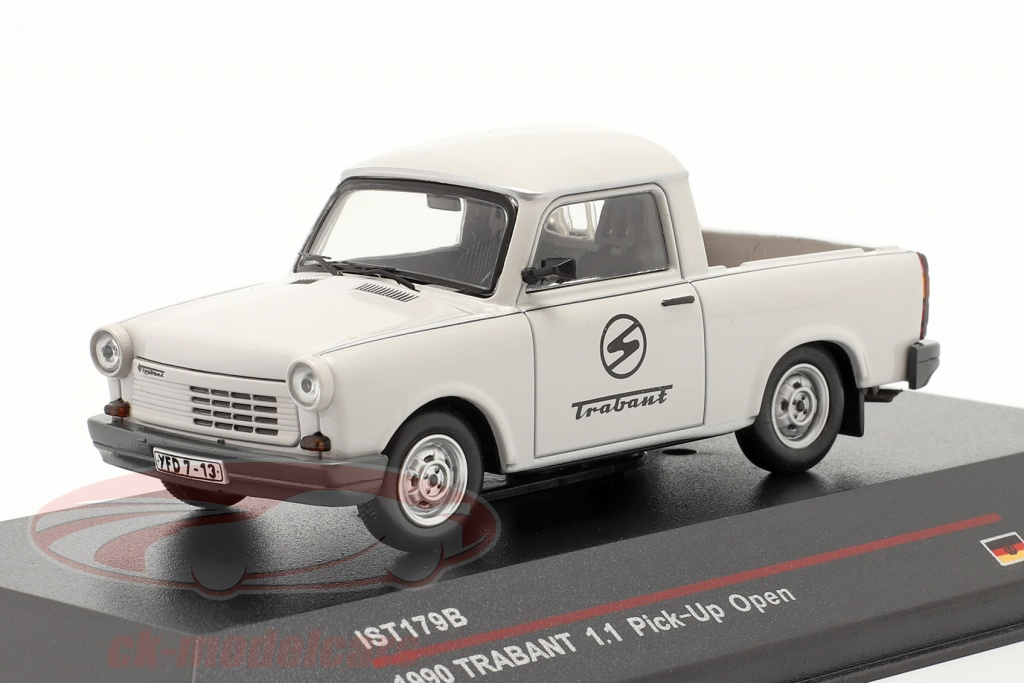 ixo-1-43-trabant-11-pick-up-year-1990-light-grey-ist-models-ist179b/