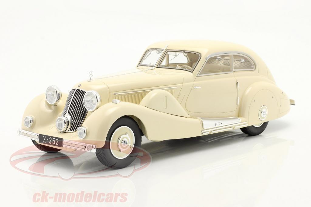 matrix-1-18-mercedes-benz-500k-special-streamlined-car-1935-cream-white-mxl1302-011/
