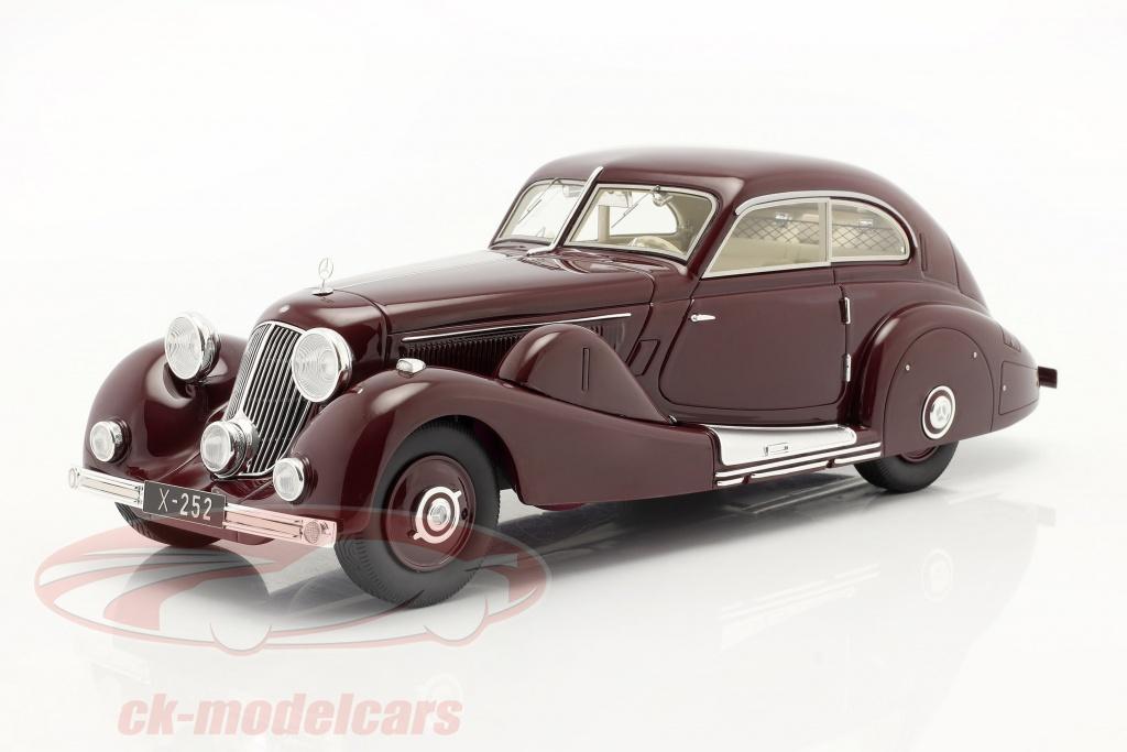 matrix-1-18-mercedes-benz-500k-special-voiture-simplifiee-1935-rouge-marron-mxl1302-012/