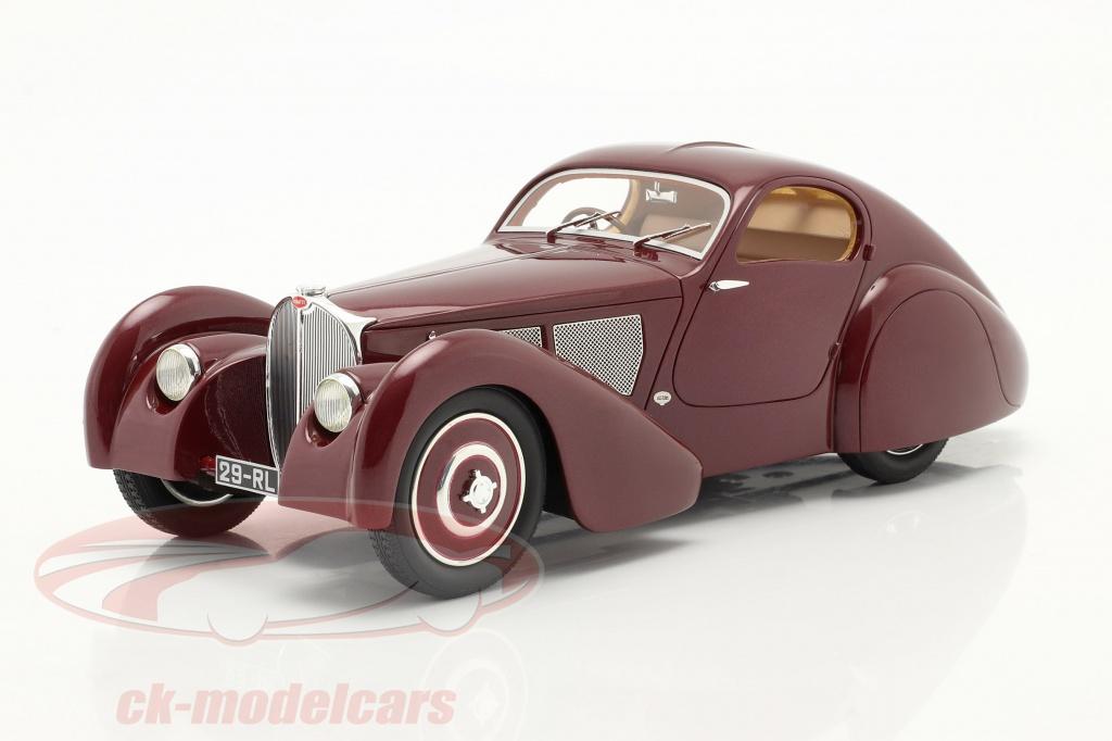 cult-scale-models-1-18-bugatti-taper-51-dubois-coupe-1931-rouge-marron-cml057-1/