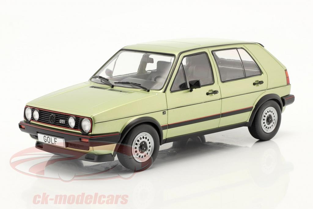modelcar-group-1-18-volkswagen-vw-golf-ii-gti-5-portes-annee-de-construction-1984-vert-metallique-mcg18203/