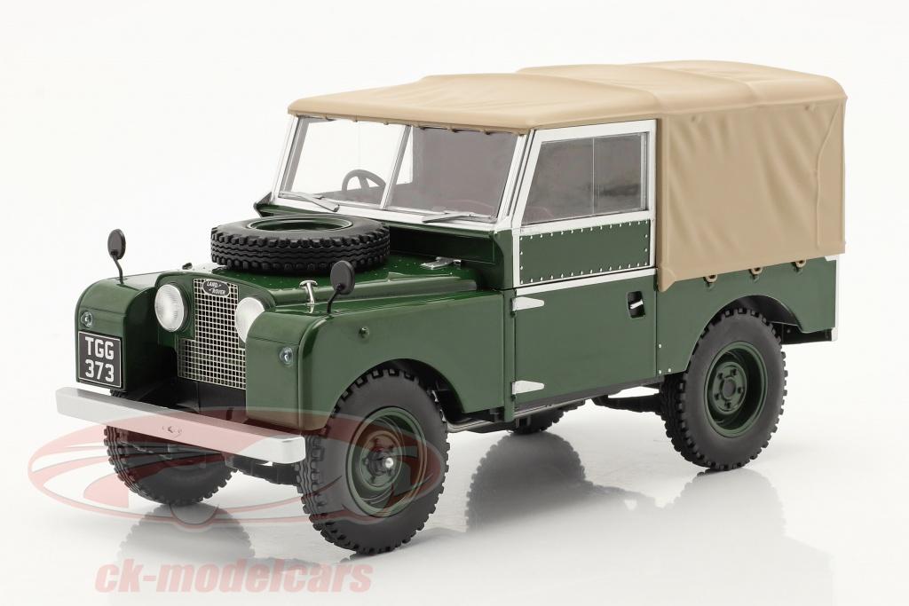 modelcar-group-1-18-land-rover-series-i-rhd-anno-di-costruzione-1957-verde-scuro-beige-mcg18179/