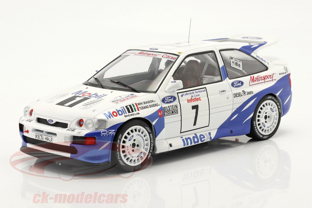 ixo-1-18-ford-escort-rs-cosworth-no7-7th-rallye-tour-de-corse-1993-biasion-siviero-18rmc055b/