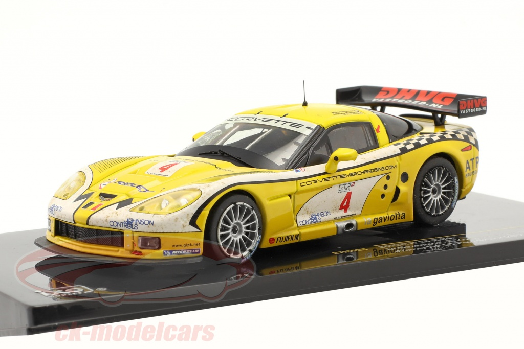 ixo-1-43-corvette-c6-r-no4-vinder-fia-gt-paul-ricard-2006-gtm059/