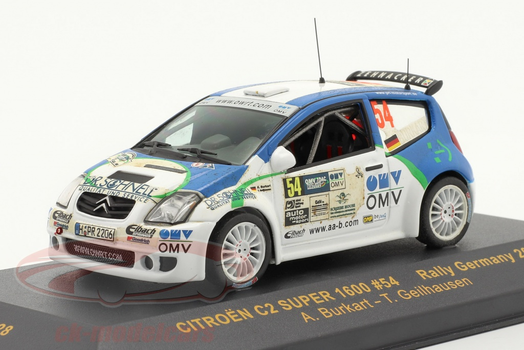 ixo-1-43-citroen-c2-super-1600-rally-tyskland-2006-no54-ram228/