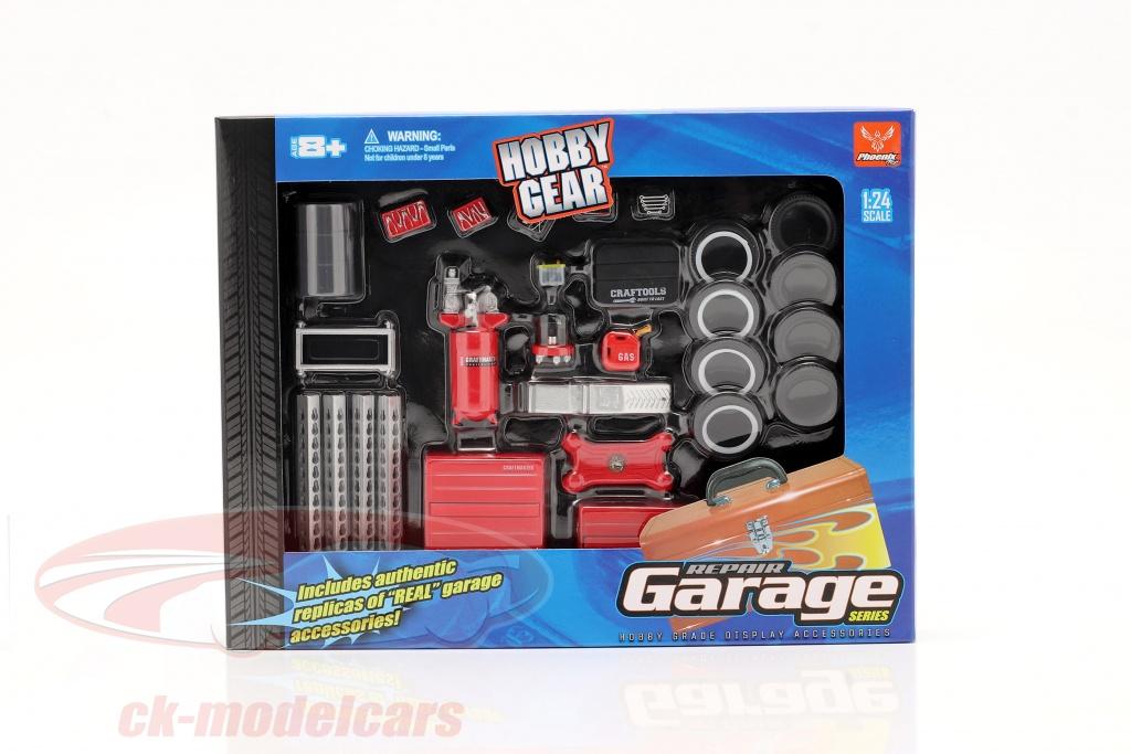 hobbygear-1-24-repair-garage-set-hg18420/