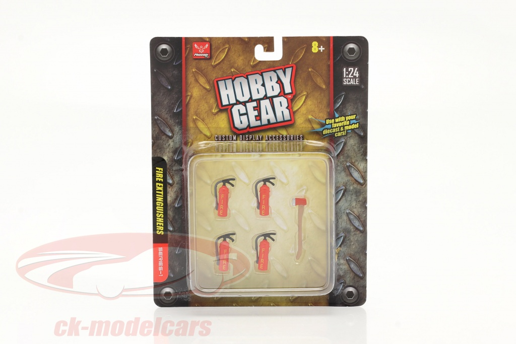 fire-extinguisher-set-4-pieces-with-axe-1-24-hobbygear-hg17017/