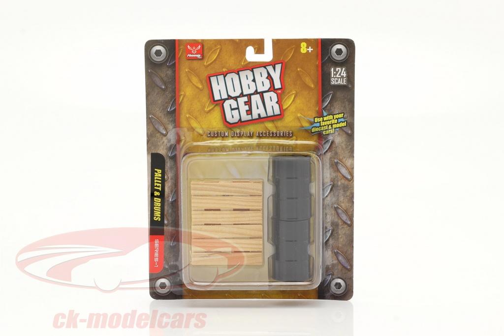 2-barils-avec-palette-1-24-hobbygear-hg17023/