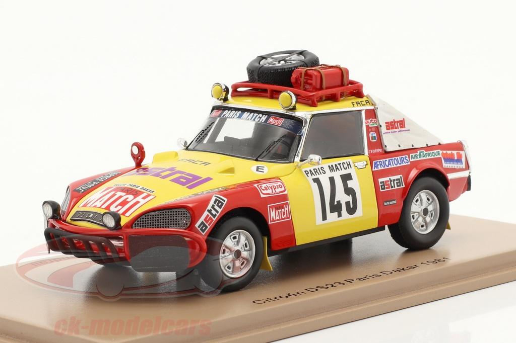 spark-1-43-citron-ds23-no145-rallye-paris-dakar-1981-roncin-quenti-darmendrail-s5538/