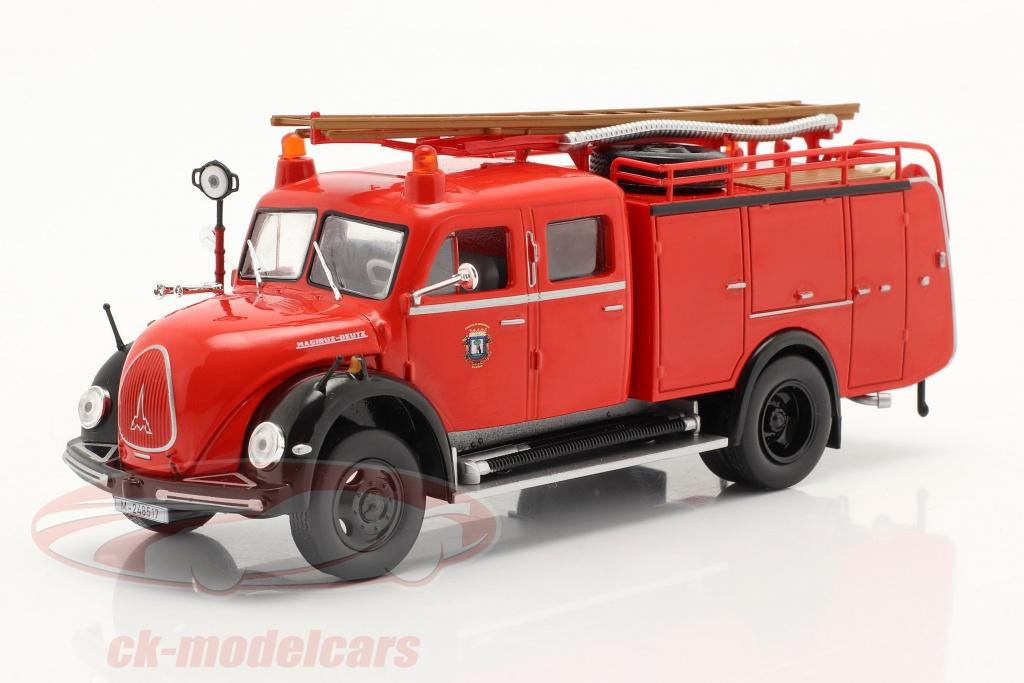 altaya-1-43-magirus-deutz-mercur-tlf-16-pompiers-madrid-rouge-ck70058/